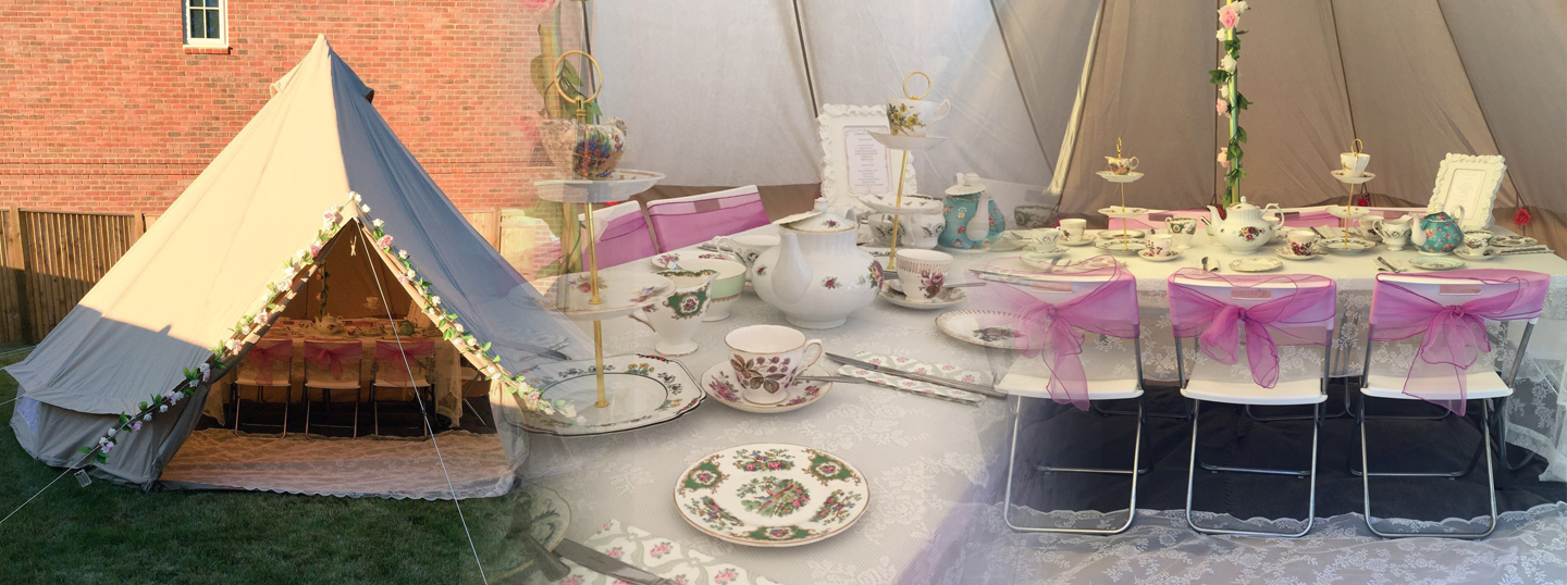 Bell Tent Hire for Parties & Sleep Overs