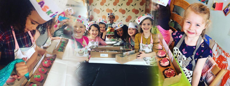 Cupcake Decorating Parties Solihull, Birmingham, West Midlands