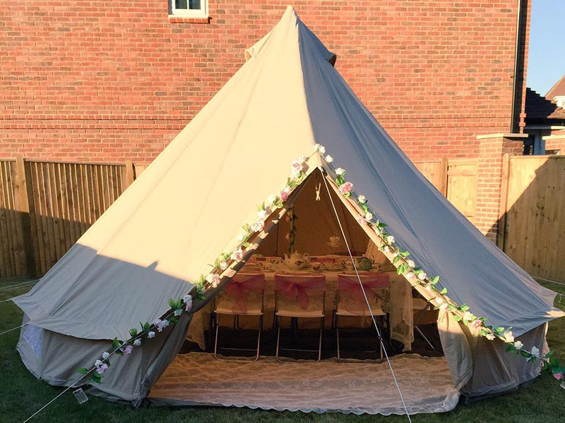 Bell Tent Hire for Parties u0026 Sleep Overs West Midlands & Bell Tent Hire for Parties u0026 Sleep Overs | Solihull Midlands ...
