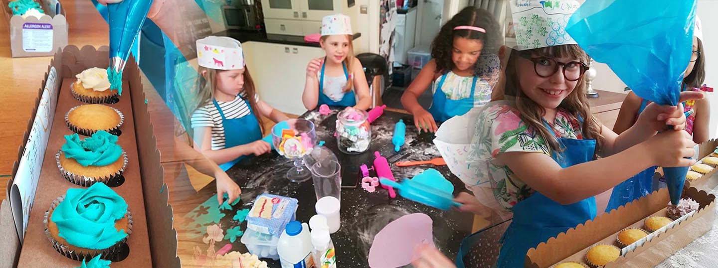 Cupcake Decorating Parties - Bertie & Belle Parties and Events