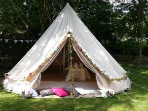 Bell Tent Hire for Parties & Sleep Overs Solihull, Midlands & Birmingham