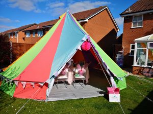 The Colourful Bell Tent Co - Bell Tent Hire Solihull, West Midlands, Birmingham