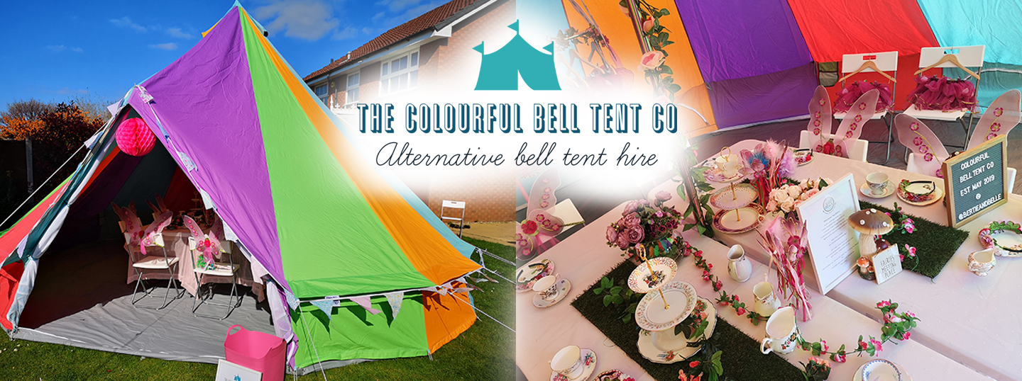 The Colourful Bell Tent Co – Alternative Bell Tent Hire