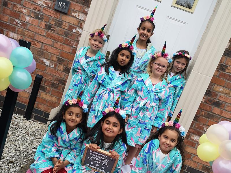 Unicorn Pamper Parties Warwickshire, West Midlands, Birmingham, Wolverhampton & Walsall